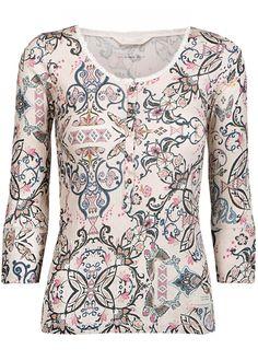 Odd Molly T-shirt med print 117M-217 Grampa Shirt - multi – Acorns