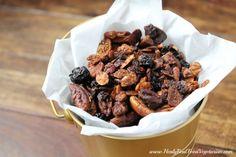 Easy Maple Pecan Grain-Free Granola (vegan) - Healy Real Food Vegetarian
