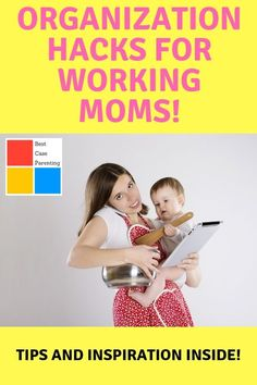 Being a working Mom is not easy! Be inspired by these tips on organization an scheduling.