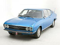Audi 100 Coupe S UK-spec 1970–1976