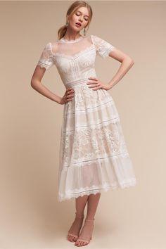 BHLDN Saylor Dress in  Bride | BHLDN