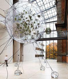 Thomas Saraceno Biospheres, Copenhagen (Courtesy Andersen-s Contemporary. Photo by the artist, 2009)