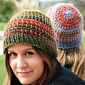 Ravelry: Tunisian stitch Metamorphosis Hat pattern by Laura Cunitz