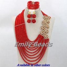 Find More Jewelry Sets Information about 10 Layers Red African Crystal Beads Jewelry Set Nigerian Wedding Bridal Necklace Jewelry Set Wholesale Free Shipping AES411,High Quality set top box internet tv,China set volume Suppliers, Cheap set patch from Emily's Jewelry DIY Store on Aliexpress.com
