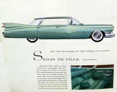 1959 Cadillac Sedan de Ville four door hardtop! A girl can dream cant she!!