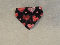 XX Small Dog or Cat Over the Collar Bandana by favorite4paws, $3.00