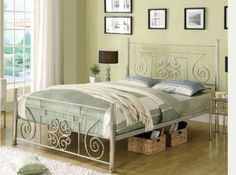 Metal Beds and Bed Frames Young Adult Bedroom, Metal Beds, Bed Frame, Bedroom Ideas, Queen, Furniture, Home Decor, Homemade Home Decor, Bed Base