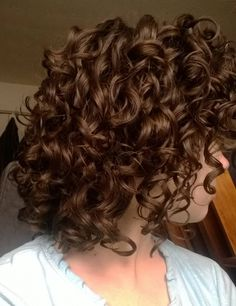 """curly hair - I wish mine would look like this"" THIS IS NOT CURLY HAIR... You can not get hair like this natural this is curled hair so just buy a freaking curling wand because this isn't natural"