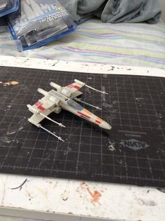 X-wing fighter /star wars