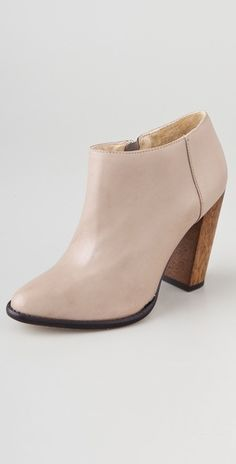 Elizabeth and James- Shane High Heel Booties in Nude via Shopbop ($295)