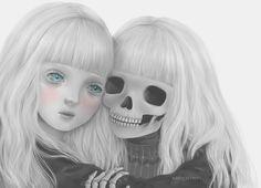 Cute & Creepy Art by Saccstry