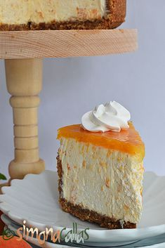 Cheesecake cu caise si ciocolata alba Sweets Recipes, Easy Desserts, Cheesecakes, Soul Food, Vanilla Cake, Food And Drink, Ice Cream, Candy, Dishes