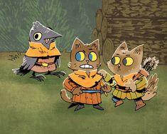 The Worlds of Kyle Ferrin — Light Grey Art Lab Cute Illustration, Character Illustration, Goblin Art, Mall, Grey Art, Environmental Art, Cute Art, Character Art, Concept Art