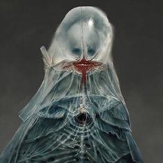 ArtStation - Hounds of the Black Grail, mike franchina Dark Creatures, Alien Creatures, Fantasy Creatures, Fantasy Kunst, Dark Fantasy Art, Scary Art, Creepy, Zombie Monster, Lovecraftian Horror