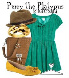 Perry the Platypus by leslieakay on Polyvore featuring polyvore, fashion, style, Monki, ALDO, Poppie Jones, Nixon, Disney and disney