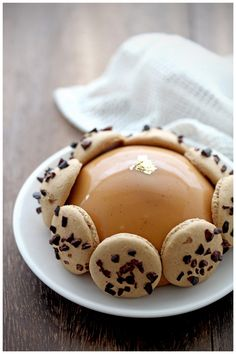 Caramel Coffee Rum Raisin Entrement! This looks VERY complicated and time consuming but Oh! So! Yummy!