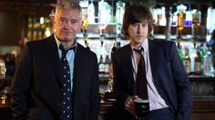 Martin Shaw and Lee Ingleby, who star in Inspector George Gently, 2007-
