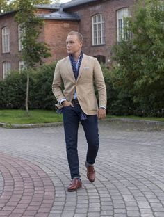 Khaki, Navy, Sky Blue and Denim - The Nordic Fit