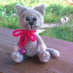 #crochet, free pattern, cat, kitten, amigurumi, stuffed toy, #haken, gratis patroon (Engels), kat, kitten, knuffel, speelgoed, #haakpatroon