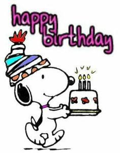 Happy Birthday Snoopy snoopy birthday happy birthday happy birthday wishes… Happy Birthday Clip Art, Birthday Clips, Happy Birthday Pictures, Happy Birthday Messages, Happy Birthday Quotes, Happy Birthday Greetings, Snoopy Birthday Images, Birthday Cake, Images Snoopy