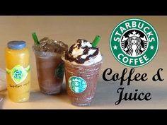 ▶ Starbucks Inspired Miniatures - Polymer Clay & Resin Tutorial - YouTube