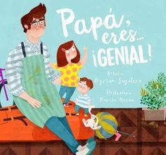 papá, eres ¡genial!-myriam sayalero-9788448844400