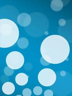 Abstract circulos blancos | Fondos para iPhone