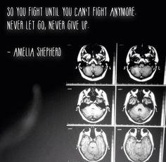 """Amelia Shepherd -- Grey's Anatomy -- La zona del cervello più importante è quella che ci fa sperare, sognare, immaginare. Una parte, singola, quasi non misurabile, è ciò che rende voi… VOI. E me… ME. Ed ognuno, SE STESSO. Tecnicamente è chiamata """"fornice"""". …Ma io la chiamo """"La scatola dei sogni""""."""