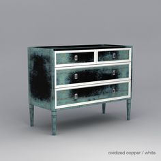 Savannah dresser in Oxidized Copper finish   ducducnyc.com