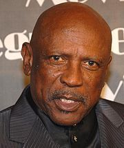 Louis Cameron Gossett, Jr. (born May 27, 1936) is an American actor best known for his role as Gunnery Sergeant Emil Foley in the 1982 film An Officer and a Gentleman and Fiddler in the 1970s television miniseries Roots. Gossett has also starred in numerous film productions including The Deep, Jaws 3-D (as SeaWorld manager Calvin Bouchard), Wolfgang Peterson's Enemy Mine, the Iron Eagle series, Toy Soldiers and The Punisher. He has won an Academy Award, two Emmy Awards, and two Golden Globe…