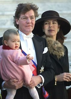 Caroline, Ernst and Baby Alexandra