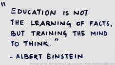 Education by Albert Einstein