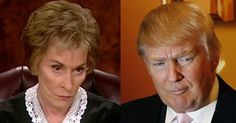 "Judge Judy Shocks Audience With 4 Blunt Words on Trump - ""I'm crazy about Donald,"" she said during an interview with Las Vegas station KTNV. She added that Americans hunger for ""plain speak"" — something she's known for herself — and that Trump, known for speaking the politically incorrect truth, has been giving them exactly that."