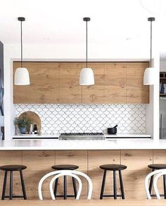 Perfect Modern Kitchen Backsplash Ideas 12