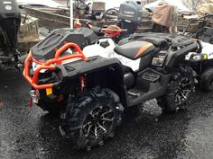 New 2017 Can-Am Outlander™ X® mr 1000R ATVs For Sale in North Carolina. THE ULTIMATE FACTORY-READY MUD MACHINE. Horsepower matters when it comes to mud riding. That's why the Outlander X mr 1000R is built with an 89 hp Rotax® 1000R V-Twin engine. Take on any mud hole with confidence and best-in-class power.