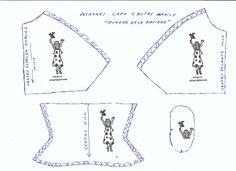 Patrón de Capa y botas para Nancy ( De Anilegra)
