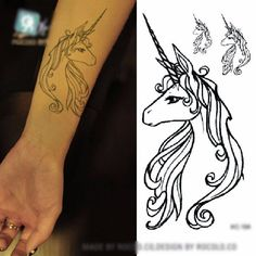 Unicorn Shops tattoo offering is large and getting larger, keep checking back. These unicorn tattoos are temporary but should last a couple days under normal conditions. Unicorn temporary tattoo application instructions are located here as well. Not only do we have unicorn tattoos, in addition, we have one of the broadest selections of unicorn stuff. This is why our website is one of the best places to find and buy a unicorn tattoo and any other unicorn merchandise for a gift or for…