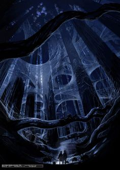 Harry Potter and the Chamber of Secrets Concept Art by Dermot Power