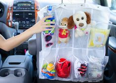 shoe organizer 24 Genius Dollar Store Hacks Every Parent Needs to Know - The Krazy Coupon Lady Dollar Store Hacks, Astuces Dollar Store, Dollar Stores, Car Cleaning Hacks, Car Hacks, Storage Hacks, Organization Hacks, Storage Solutions, Diy Storage