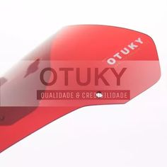 para-brisa xt 660 r 2007 2008 yamaha moto otuky vermelha