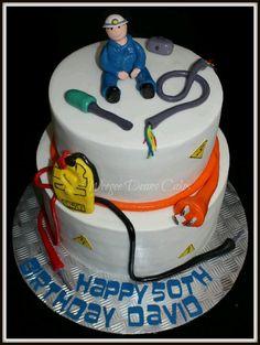 Electrician cake