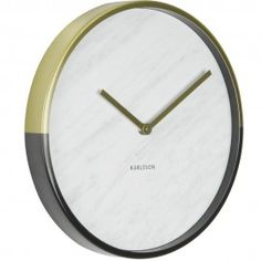 Marble Delight Gold Wall Clock 30cm - Other colours available!