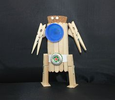 Popsicle Stick Robot