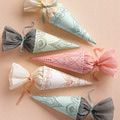 Print Out Free Favor Boxes for Your Wedding: Wedding Favor Cones from Martha Stewart