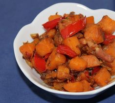 Diana's Cook Blog: « Cuisine rapide » : Poêlée de patates douces