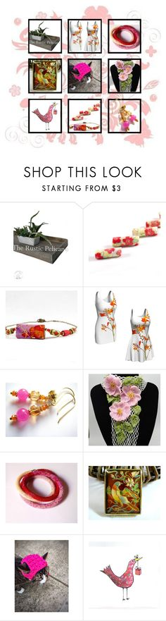 """""""Unique Gift Ideas"""" by belladonnasjoy ❤ liked on Polyvore featuring Giallo, Wild Rose, modern and rustic"""