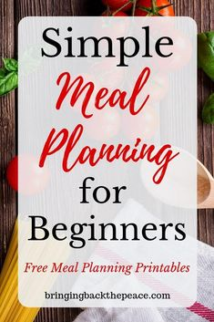 Meal planning is a great way for busy moms to save time, energy, and money. Plan your family& meals in four easy steps with this meal planner template Monthly Meal Planning, Family Meal Planning, Meal Planning Printable, Weekly Meal Planner, Weekly Meal Plan Family, Easy Meal Plans, Free Meal Plans, How To Plan Meals, Easy Weekly Meals