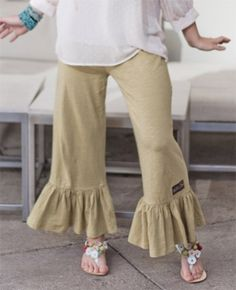 Matilda Jane Basil Big Ruffles $56.00 I like these pants but would not pay that much for them.