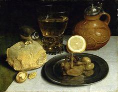 /\ /\ . Still Life . Georg Flegel . 1566-1638