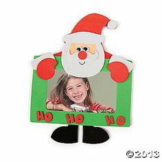Christmas photo frame craft!